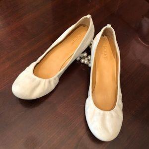 J. Crew Shoes - J. Crew Suede Ballet Flats Anya Slip Ons